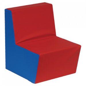 Jednoduchá sedačka jednobarevná