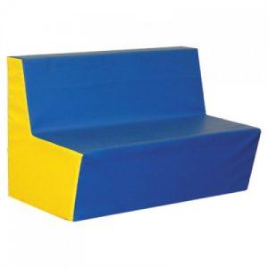 Jednoduchá sedačka 80cm jednobarevná