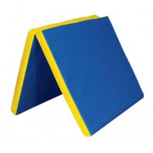 Molitanová matrace dvojdílná modrá