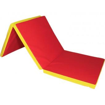 Molitanová matrace trojdílná červená