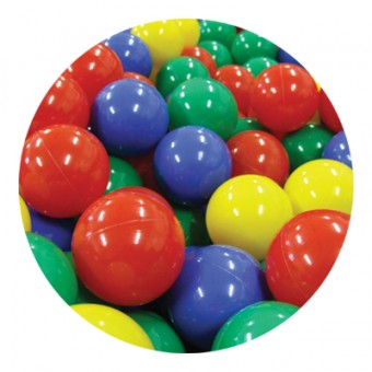 Plastové míčky do bazénu, sada 500ks